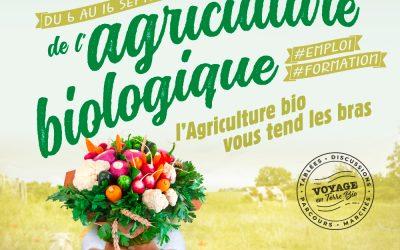 Les Rendez-vous de l'Agriculture Biologique  #emploi #formation